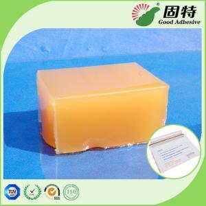 Buy cheap Yellow and semi-transparent Block PSA Hot Melt Glue Adhesive For Packaging Mail Bag Sealing,Express Envelope bag sealing product