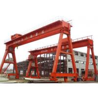 Buy cheap Work Yard A Frame Double Beam Gantry Crane , Optional Color Rubber Tired Gantry Crane product
