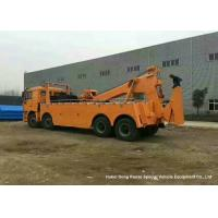SHACMAN F3000 8x4 Heavy Duty Tow Truck Wrecker 31 Ton For Road Recovery