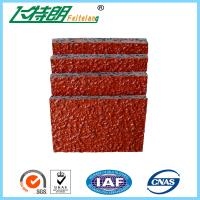 PU Glue Mix SBR Rubber Particle Running Track Materials Outdoor Playground