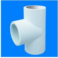 China Sch40 PVC REDUCING FEMALE THREADED TEE on sale