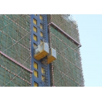 Buy cheap Safety 2000 KG Per Cage Rack Pinion Hoist product