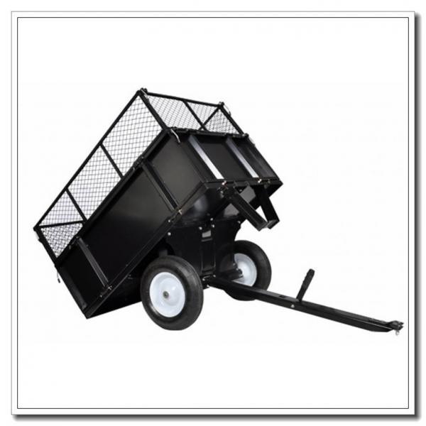 Heavy Duty Tractor Trailer : Heavy duty garden lawn tractor dump trailer pull behind