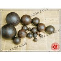 Buy cheap Air Hammer Forged Grinding Balls , 50mm Forging Steel Balls For Ball Mill product