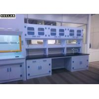 Buy cheap Wall Cabinet Combined Medical Laboratory Furniture , Laboratory Island Bench Floor Mounted product
