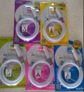 Buy cheap Asian Thai Bidet Toilet Spray Sprayer Shower Rinse Hygiene Bum Gun Complete Kit JK-3040 india PVC health faucet product