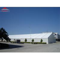 Buy cheap Tear Resistant Industrial Storage Tents With Double PVC - Coated Polyester Textile Fabric Cover product