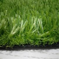 Buy cheap Decoration Artificial Turf Grass SBR LaTeX Coating With 16800 Density product