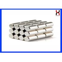 Buy cheap Powerful Neodymium Cylinder Shaped Magnet High Performance N35 - N52 product