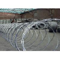 Buy cheap Anping factory galvanized big coil diameter 960mm BTO22 BTO30 razor babed wire product