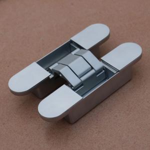 Buy cheap zinc 3D adjustable concealed hinge for wooden frames, steel frames, aluminum frames product