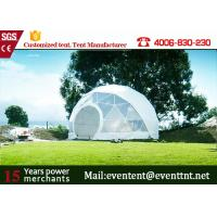 Buy cheap Guangzhou Customized Tent Manufacturer Geodesic Dome Tents dome house for Outdoor camping family event from Wholesalers