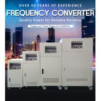 Buy cheap BP 3 Phase Input Ac Frequency Converter 3 Phase Custom Output 50Hz 60Hz 400Hz product