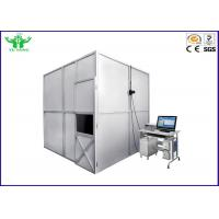 Buy cheap 3 Metre Cube Horizontal Flammability Tester , Wire And Cable Smoke Density Tester product