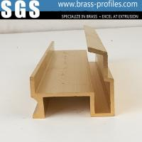 Quality Extruded Decorative Copper Brass Profiles C3800 Copper Alloy Extrusions for sale