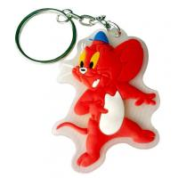 Buy cheap customized soft pvc key chain for advertisment use product