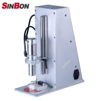 Buy cheap Semi-auto vial capping machine manual glass screw cap bottle capping machine product