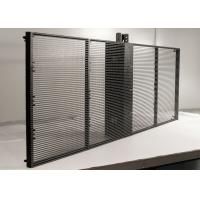 Buy cheap Glass Wall Transparent Led Display Ip65 160 Degree With 3 X 8mm Pixel product