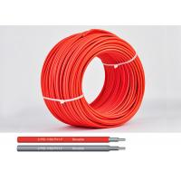 Buy cheap TUV 1500V DC Solar Cable of 6mm H1z2z1-K 0.6/1.0KV AC double xlpe insulation product