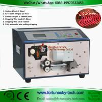 Buy cheap Automatic Wire Cut Strip Forming Machine Both Ends Stripping 5 Foldings 30 to 90 Degree Bending product