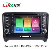 Buy cheap 7 INCH Audi A4 Dvd Player , BT WIFI Dvd Player ST TDA7388 For Android product