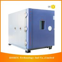 Buy cheap Combined Temperature Altitude Humidity Low Pressure Test Chamber With Air Cooling Fin Condenser product