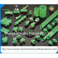 Buy cheap Plastic Brass Inserts PPR Pipe Fittings Threaded Unequal Tee / PPR Piping System product