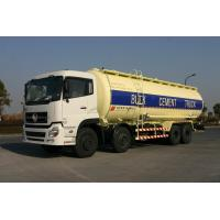 8x4 Dry Bulk Tank For Cement Transport 27cbm Dry-Mixed Powder Truck