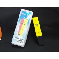 Buy cheap China Cheepest waterproof PH temp meter pen type of PH with ATC product