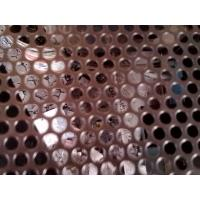 China Stainless steel perforated metal mesh /perforated sheet for test sieve on sale