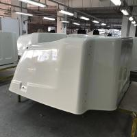 Buy cheap molded fiberglass travel trailers parts/custom GFRP trailer body/Front and Rear Caps product