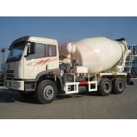 Buy cheap 6 X 4  Ready Mix Concrete Mixing Truck6-8m3 Front Discharge High Speed Left Drive product