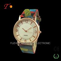 Buy cheap Tourist style women fashion hand watch with colorful nylon watch straps product