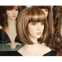 Buy cheap Non-Remy Silver White Wig product