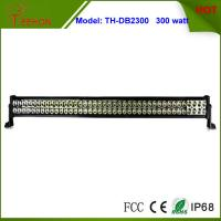 Buy cheap 300 Watt 50 Inch Double Row LED Light Bar in optional spot beam,flood beam or combo beam product