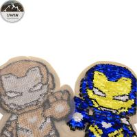 Buy cheap Iron Man Embroidery Designs Patches For Garment Decoration Custom Color product
