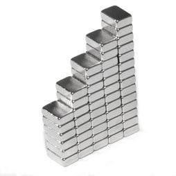 China sintered ndfeb powerful permanent neodymium block magnet 6x5x2mm Ndfeb block magnet of N52 on sale