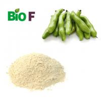 Buy cheap Nature Vegetable Extract Powder Light Yellow Broad Bean Powder 15% L-dopa product
