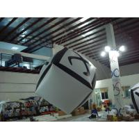 Big Cube Inflatable Advertising Balloon Full Digital Printing For Party Decoration