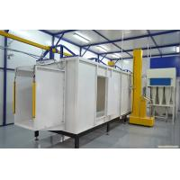 Quality the plastics powder coating line for metal coating machinery for sale