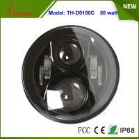 Buy cheap 7 inch 50W LED Headlight with DRL High beam/low beam for Jeep Wrangle,Hummer, Camaro FJ product