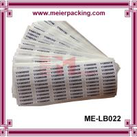 Buy cheap Numbers sticker label/digital self adhesive paper label stickers/coated paper adhesive sticker ME-LB022 product