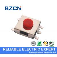 Buy cheap Long Life Miniature Tactile Switch , 5 Pin Micro Tactile Switch DIP Terminal Type product