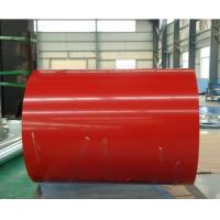 Zn40 - Zn120 Prepainted Galvanized Steel Coil 600mm - 1250mm Coil Width