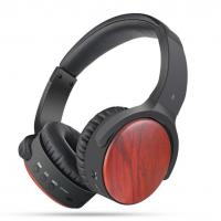 Buy cheap SORNBEO BH539 red wooden Factory OEM Wireless Stereo Bluetooth Headphone/Headset/Earphone/Earbuds with ANC product