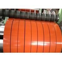 Buy cheap DX51D SGCC GI Steel Strip Coil Color Coated Galvanized For Corrugated Steel Roof product