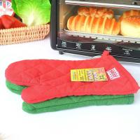 ECO - Friendly Customized Kitchen Oven Mitts With Logo Embroidery