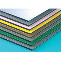 Buy cheap Anodized Composite Wall Panels , Aluminium Composite Sheet Easy Maintain product