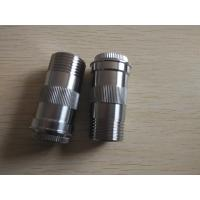 Buy cheap Stainless steel beer valve joint,Customized cnc precision machining parts with all kinds of finishes product