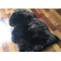 Buy cheap Real Sheepskin Rug Long lambswool Double Pelts Sheep Skin Hides for hotel lobby product